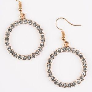Bubblicious - Gold Earrings